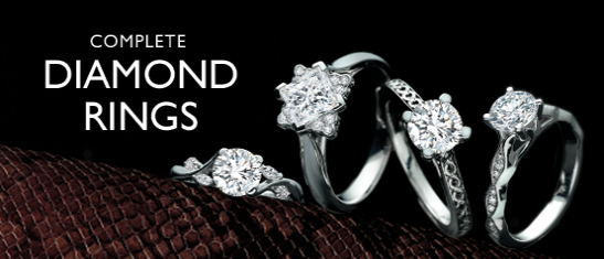 Complete Diamond Rings