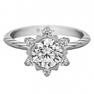 Mallow Round Diamond Engagement