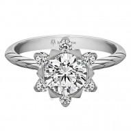 Mallow Round Diamond Engagement