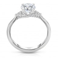 DALKEITH PAVE ACCENT DIAMOND ENGAGEMENT