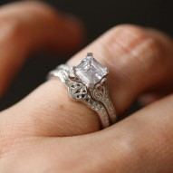 Ellary Asscher Engagement Matching Band