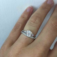Gairsay Matching Diamond Band