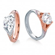 JURA ROUND PAVE ENGAGMENT