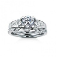 IONA PAVE MATCHING WEDDING BAND