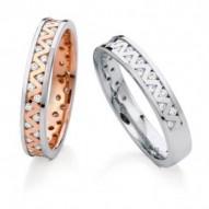 DUNDEE Half Eternity Wedding Ring