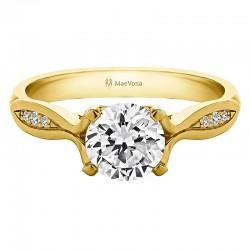 Westray Diamond Round Engagement