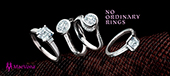 Certified Preset Diamond Rings